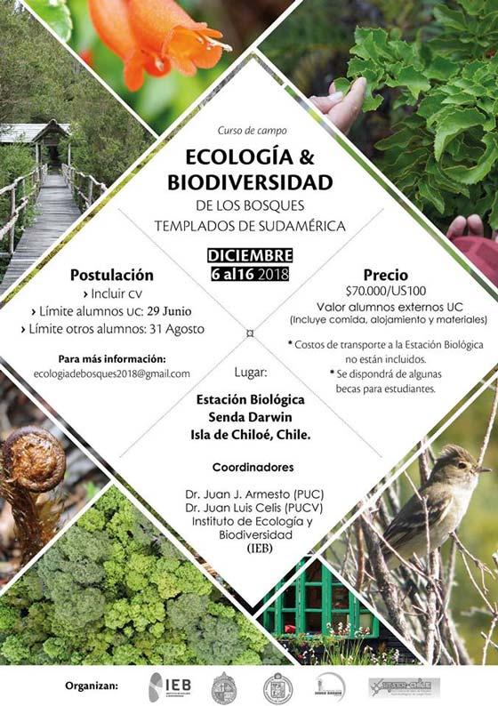 Curso Ecología y Biodiversidad 2018