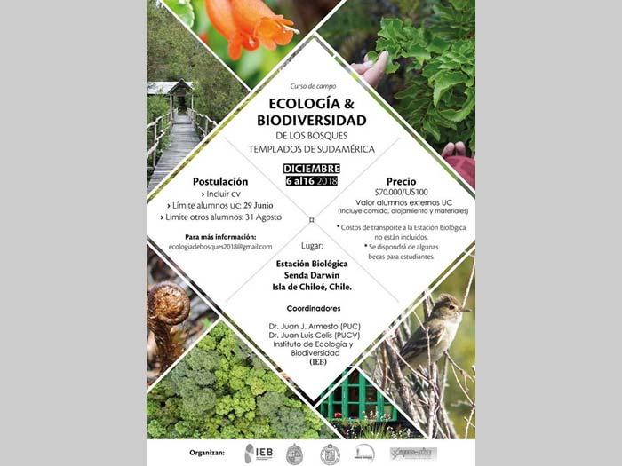 Afiche curso ecología