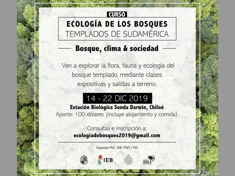 Curso Ecología y biodiversidad 2019