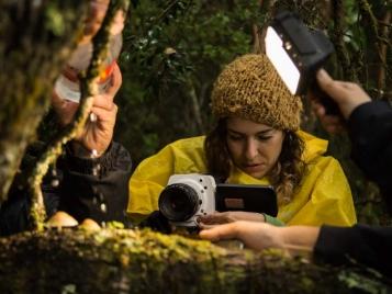 Prácticas del taller audiovisual en Ancud