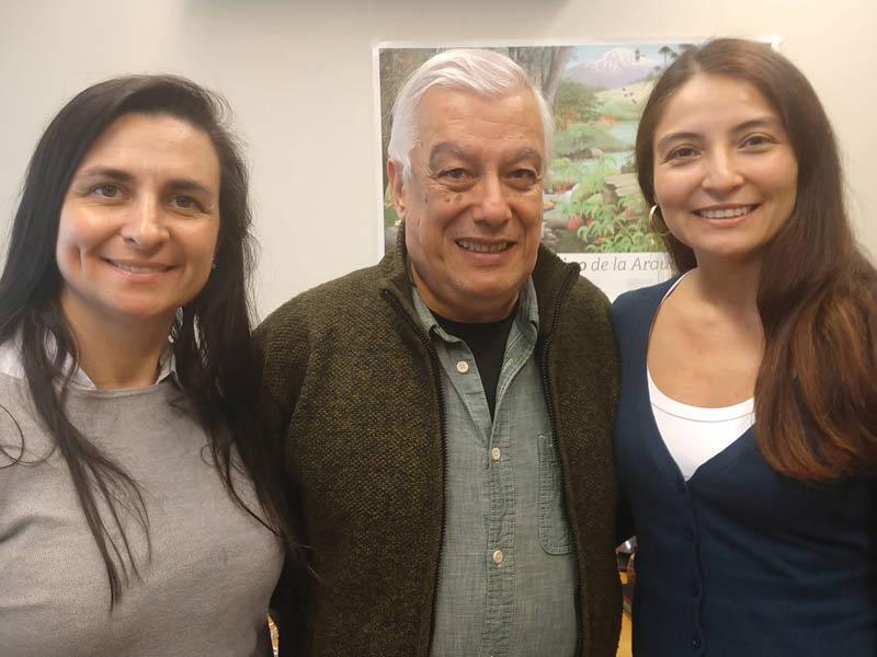 Claudia Papic, Juan Armesto, Mariela Nuñez Ávila