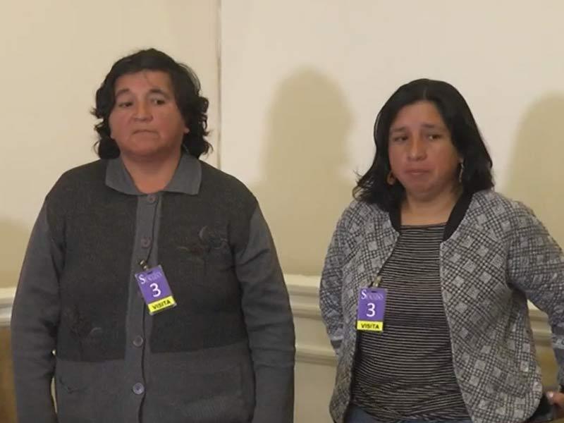 María Guineo y Norma Alvarado