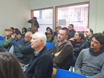 Público presente en las exposiciones