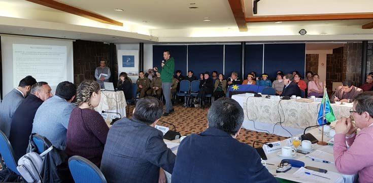 Reunión del CORE en Ancud