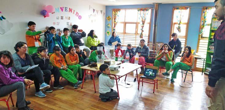 Feria Científica en el colegio San Juan