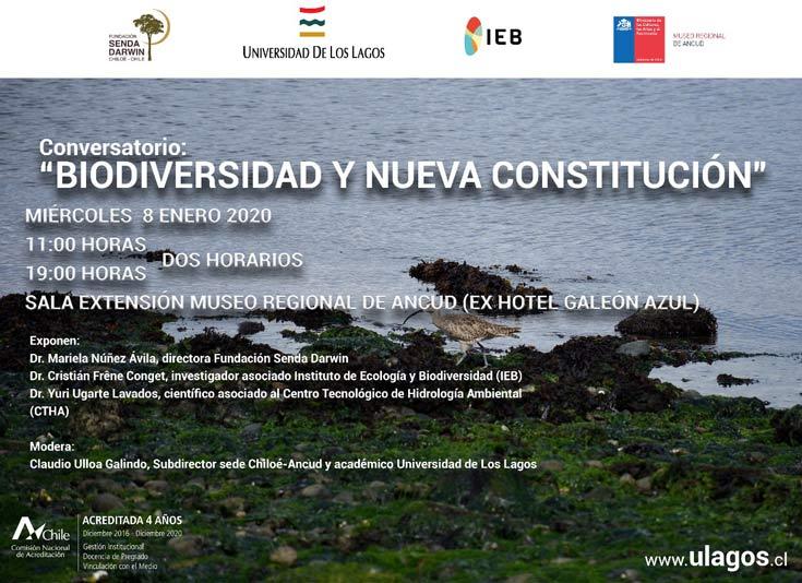 Biodiversidad y nueva constitución