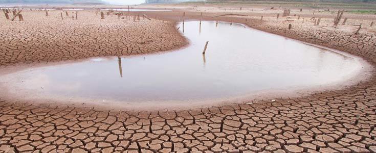laguna secandose