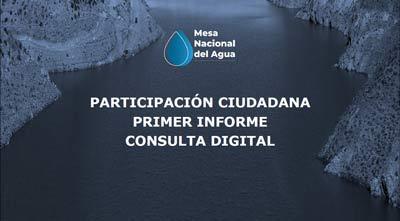 primer informe consulta digital mesa nacional del agua